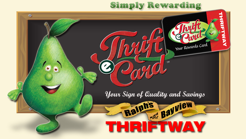Welocme to The Thrifte Card Website